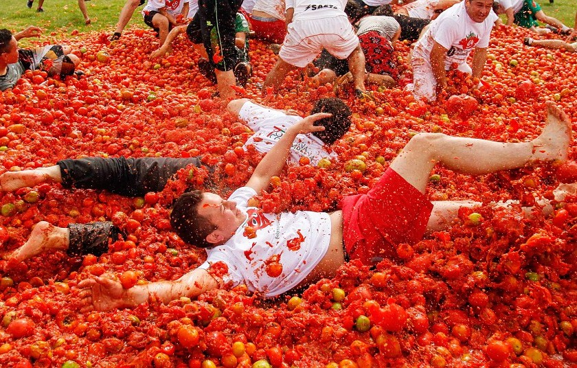 Tomatina Festival, Bunol, Spain - 03 Jun 2013